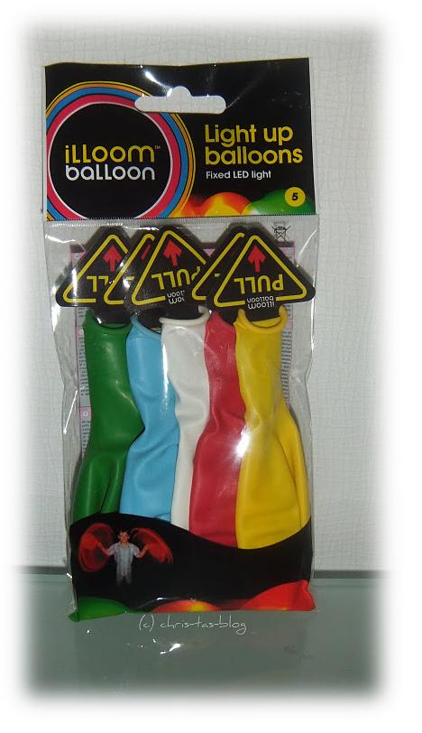 Balloons mit LED-Licht