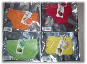 Unterwäsche in hübschen Farben von LoonyBum