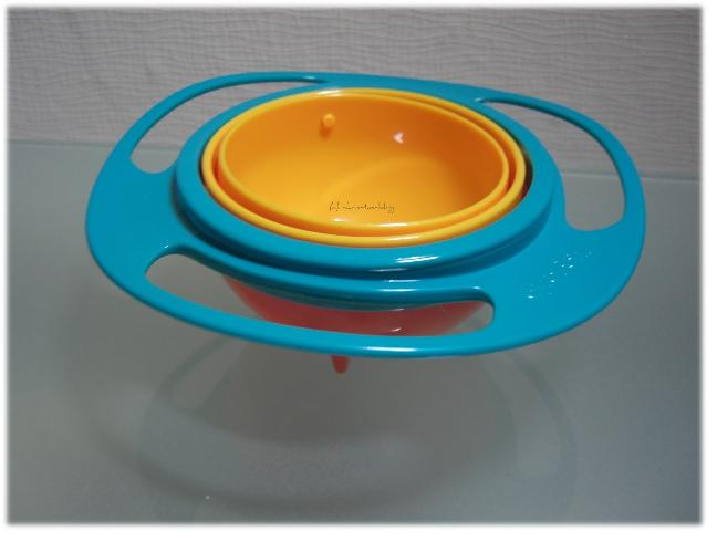 Snackschüssel für kinder, die nicht umkippen kann