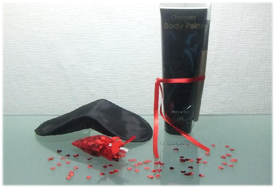 Chocolait Paint und Maske in der Liebesbox