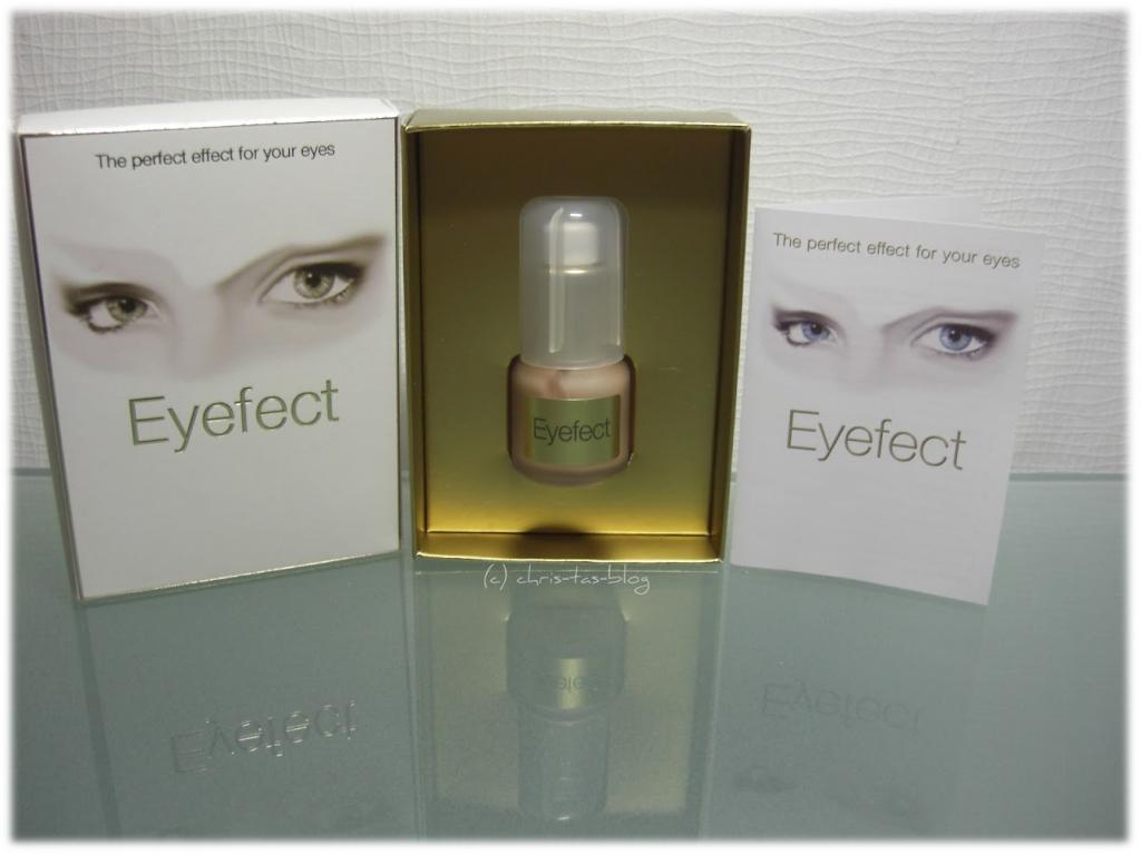 Mein Gewinn: Eyefect Augenpflege von Cosart