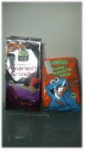 Bio Müsli Amaranth Crunchy Berries und Kekse