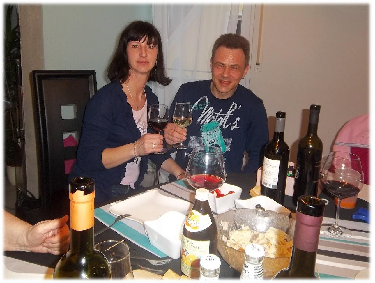 Wir genießen die Weine der Remstalkellerei