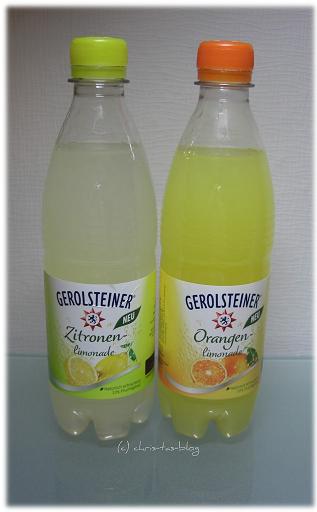 Gerolsteiner Zitronen- und Orangenlimonade