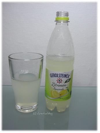 leckere Zitronenlimonade von Gerolsteiner