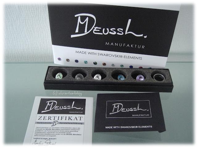 Edelstahl-Wechselring von Deussl Manufaktur