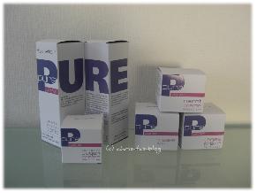 Pure Pflegeserie von dermaflor Kosmetik