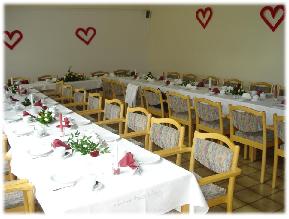 Sitzordnung zur Hochzeitsfeier