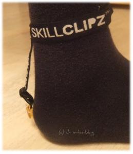 SkillClipz an meinem Fuß