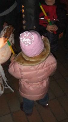 Virginia 2011 mit ihrer Twinkle Kid leuchtenden Mütze