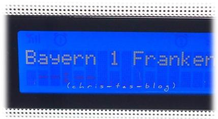 Senderanzeige Philips Radiowecker