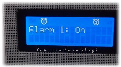 Zwei Weckzeiten Radiowecker Philips