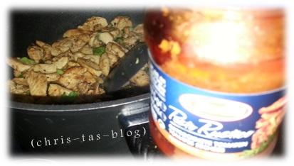 Hühnerbrustfilet mit Pesto Rustico
