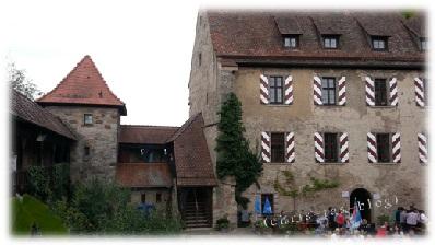 Innenhof Burg Hoheneck