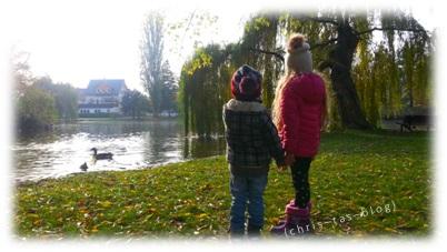 Am Bleichweiher in Neustadt Aisch
