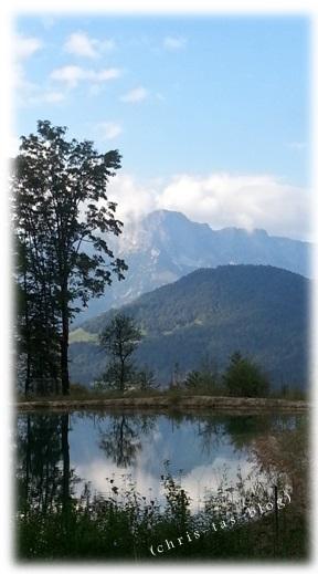 Ausblick vom Obersalzberg in Berchtesgaden