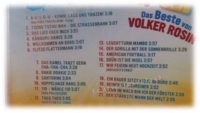 Inhalt CD TanzAlarm!