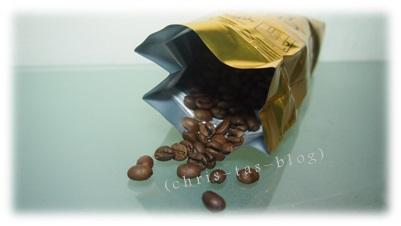 Kaffeebohnen in der Schweiz geröstet