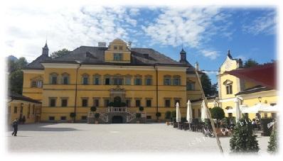 Lustschloss Hellbrunn in Österreich