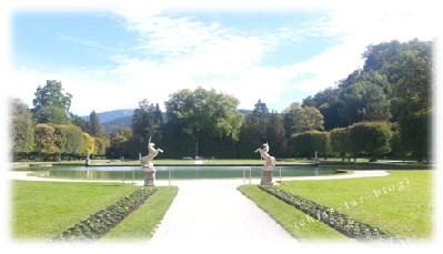 Parkanlage Lustschloss Hellbrunn Austria