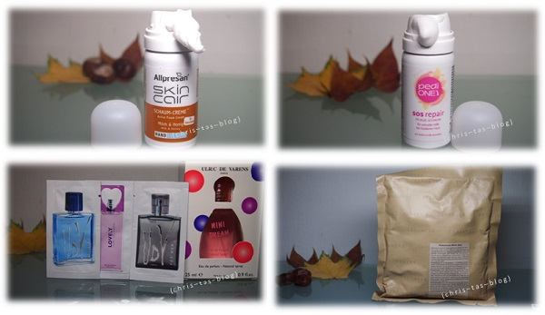 Produkte aus der Goodiebag
