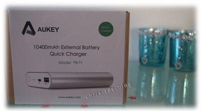 Aukey Powerbank Quick Charger