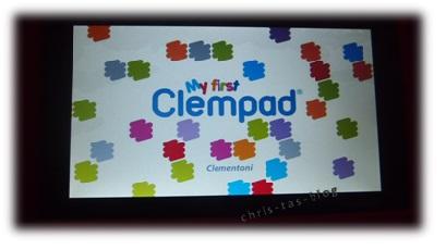 Bildschirm My first Clempad
