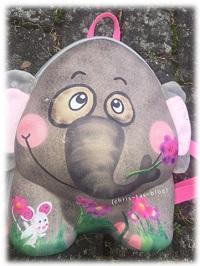 Elefant Rucksack