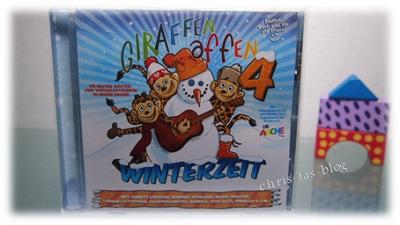 Kinderlieder CD GIRAFFENAFFEN Winterzeit