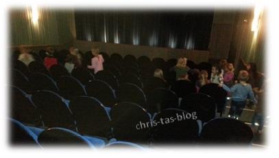 Geburtstagsfeier im Kinosaal