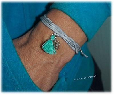 Glücks-Armband herz & stern