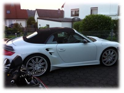 Inges schickes Porsche-Cabrio