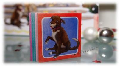 Memoryspiel im Adventskalender für Kinder