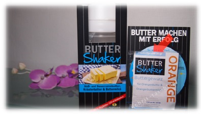 Mit ButterShaker Butter selber machen