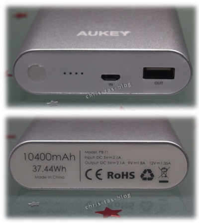 Quick Charger Aukey 10400 mAh