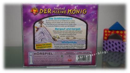 Rückseite Kinder CD Der Kleine König