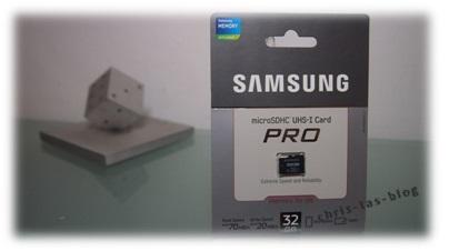 Samsung microSDHC von mobilefun.de