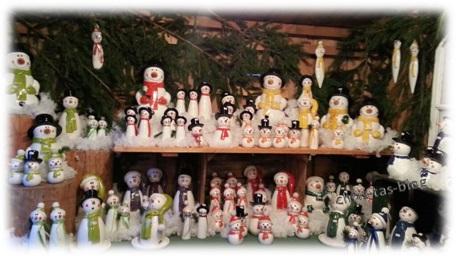Schneemann Weihnachtsmarkt