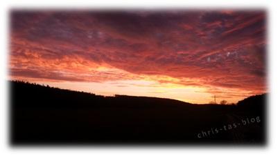 Sonnenuntergang in Neustadt