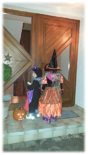 Türen Klingeln an Halloween