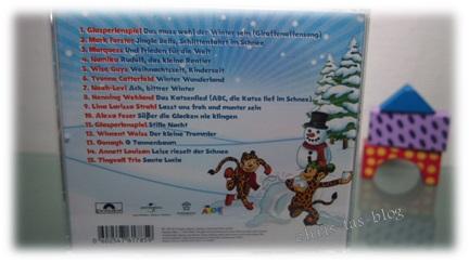 Winterzeit GIRAFFENAFFEN Kinder CD