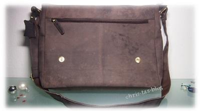 Büffelleder-Tasche Leabags