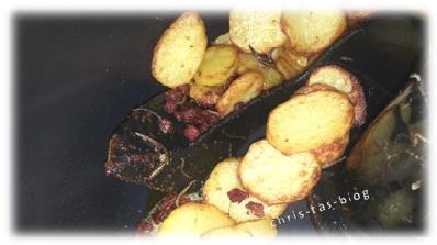 Bratkartoffeln mit der Tefal Actifry zubereitet