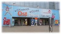 Eingang Spielwarenmesse Nürnberg 2016