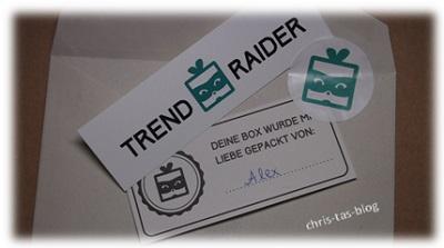 Inhalt TrendRaider Box