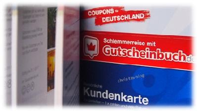 Kundenkarte Schlemmerreise mit Gutscheinbuch.de