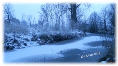 Morgens winterwonderland