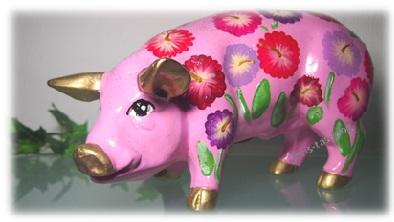 Sparschwein rosa