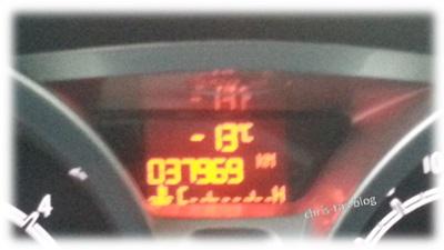 Temperaturanzeige Pkw