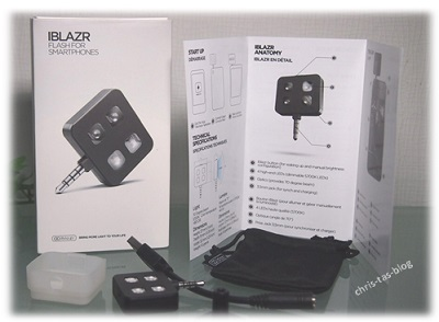 iblazr Flashlight for smartphones